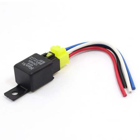 4S18 40A 12V DC Car Stereo Alarm SPDT Relay w Plastic Socket Harness Relay Wiring Car Stereo on car fan relay, car air conditioning relay, remote start relay, car lights relay, battery relay, car ac relay, car speaker relay, bluetooth relay, car alarm relay, remote control relay, telephone relay, car power relay, car amp relay,
