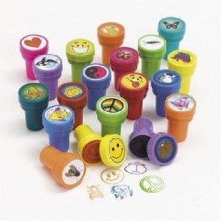 100 pc bulk wholesale lot - assorted stampers Bulk Mail Stamp