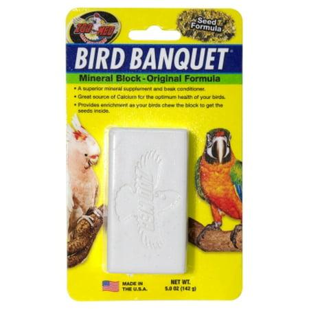 BIRD BANQUET MINERAL BLOCK, LARGE