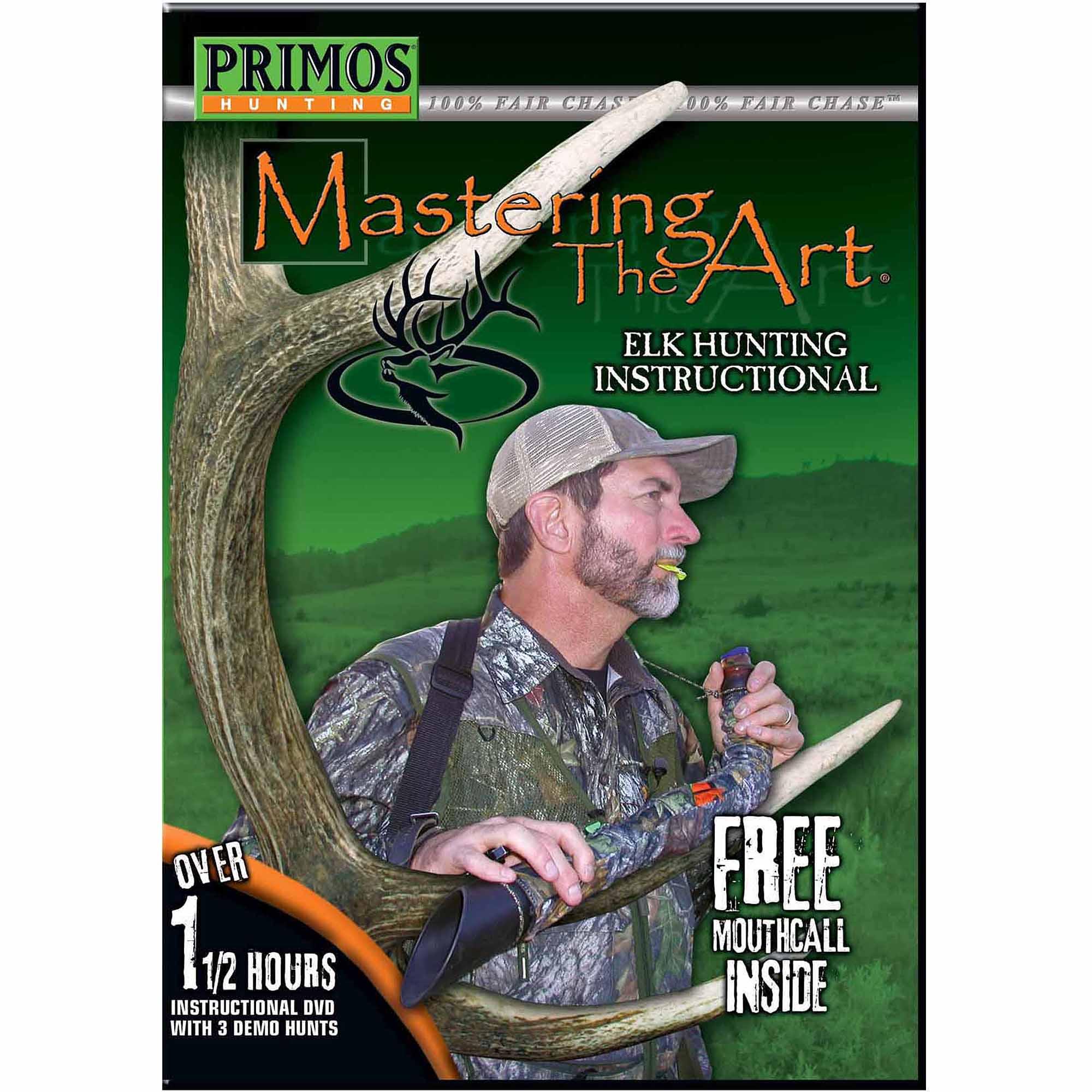 Primos Mastering the Art DVD, Elk by Primos