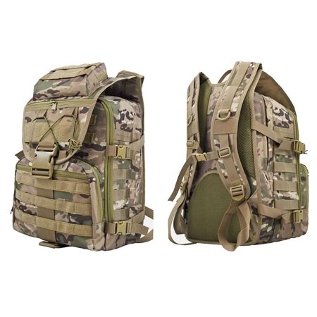 Ktaxon Military Tactical Army Backpack, 35L Rucksacks Shoulder Bag, Molle Daypack, Assault Pack, for Outdoor Sport, Travel, Hiking, Camping,
