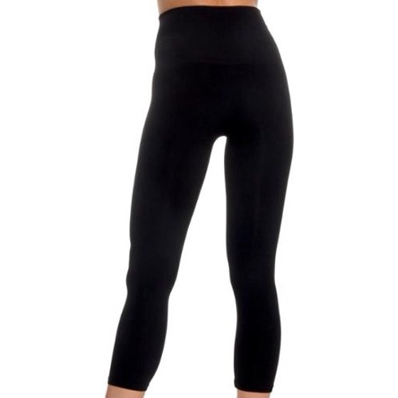 53eac5d2a4cd95 M. Rena - NEW Women's Tummy Tuck Slimming Capri Fashion Leggings ...