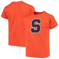 Syracuse Orange Russell Athletic Youth Oversized Graphic Crew Neck T-Shirt - Orange