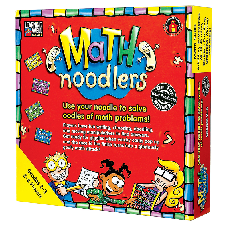 Learning Well Math Noodlers Game, Multiple Levels