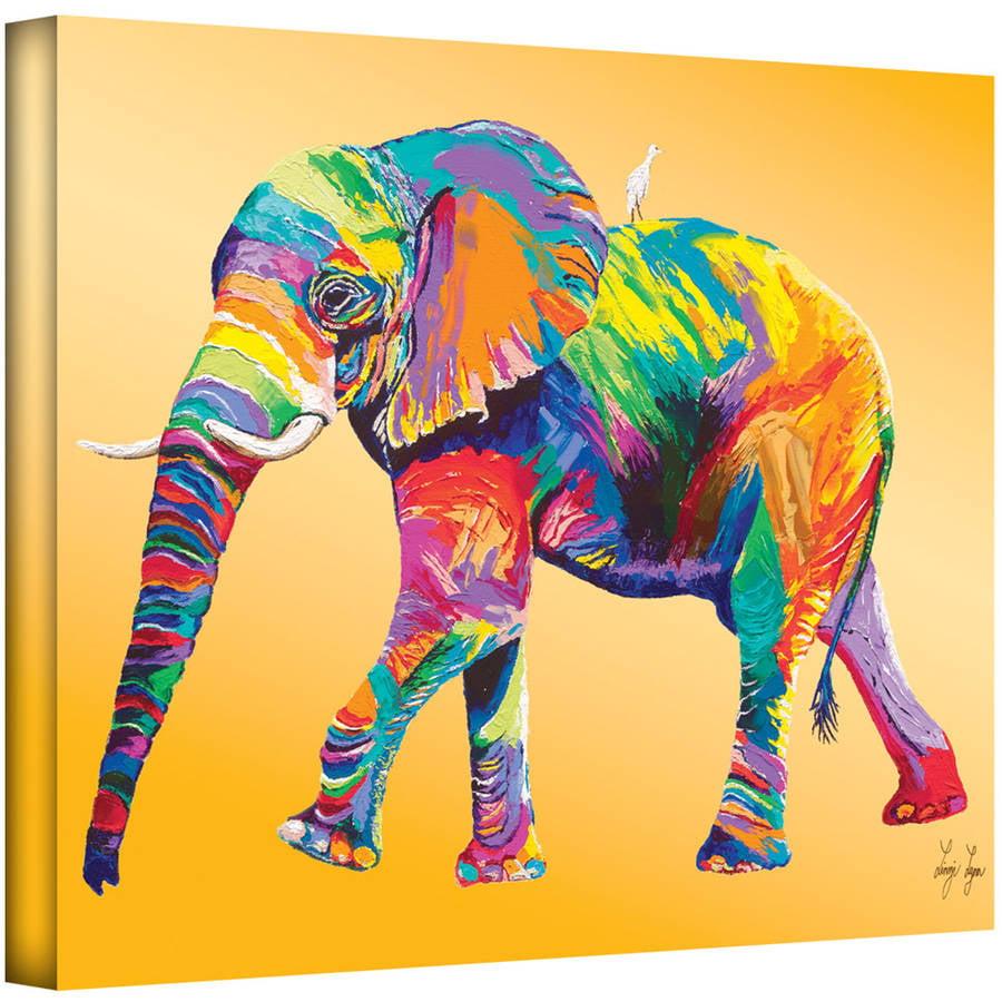 "ArtWall Linzi Lynn ""The Ride"" Gallery-wrapped Canvas"