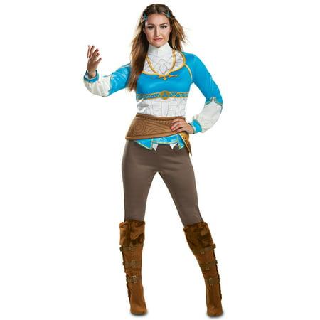 Zelda Costumes For Adults (Teen Zelda Breath Of The Wild Halloween)
