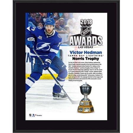 Victor Hedman Tampa Bay Lightning 10.5