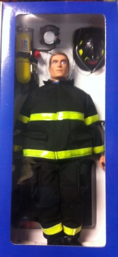 1//6 Scale Official 9-11 FDNY New York City Fire Department Firefighter 12 Action Figure