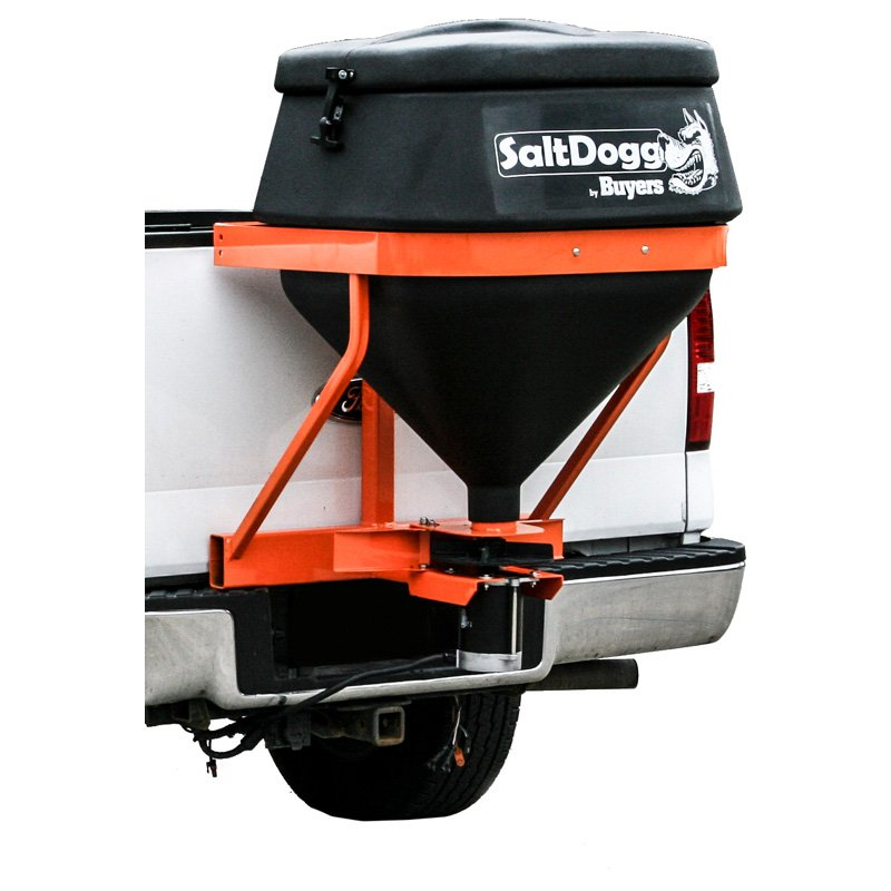 SaltDogg TGS01B Tailgate Hitch Salt Spreader by SALTDOGG