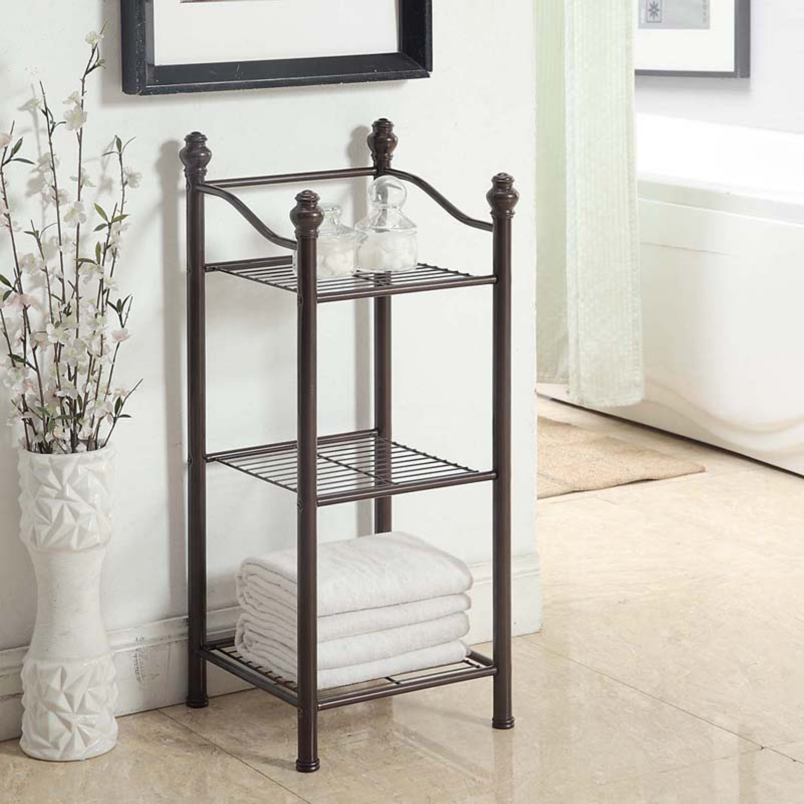 Belgium Bath Collection 3 Tier Tower