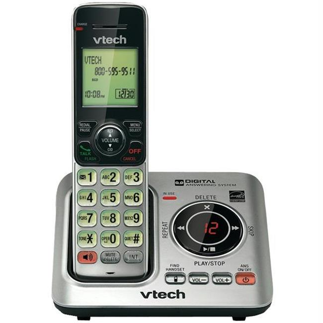 Vtech VTCS6629 Dect 6. 0 Expandable Speakerphone With Caller Id -single-handset System