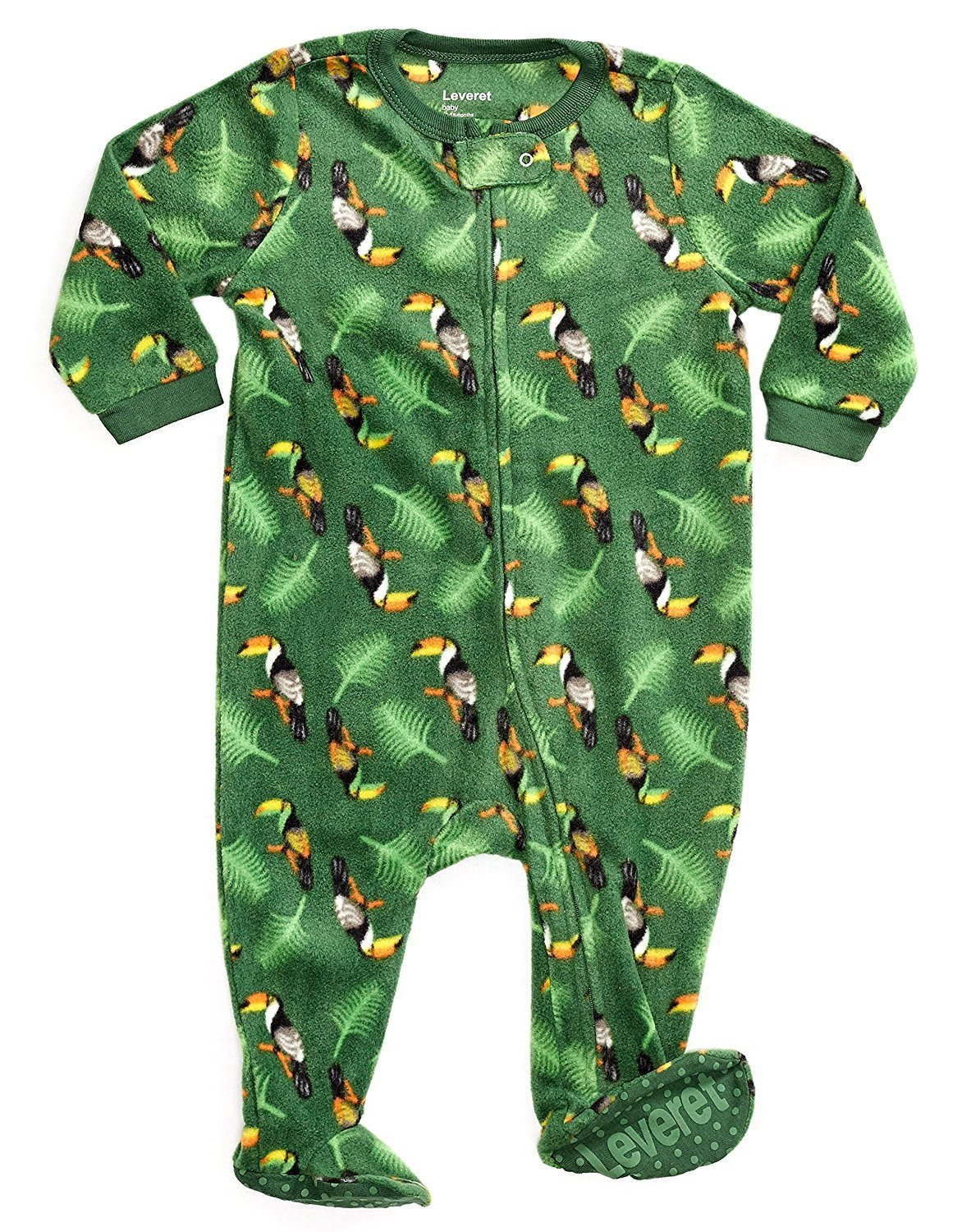 Leveret Baby Boys Sharks Footed Sleeper Pajama 100/% Cotton Size 6M-5Y