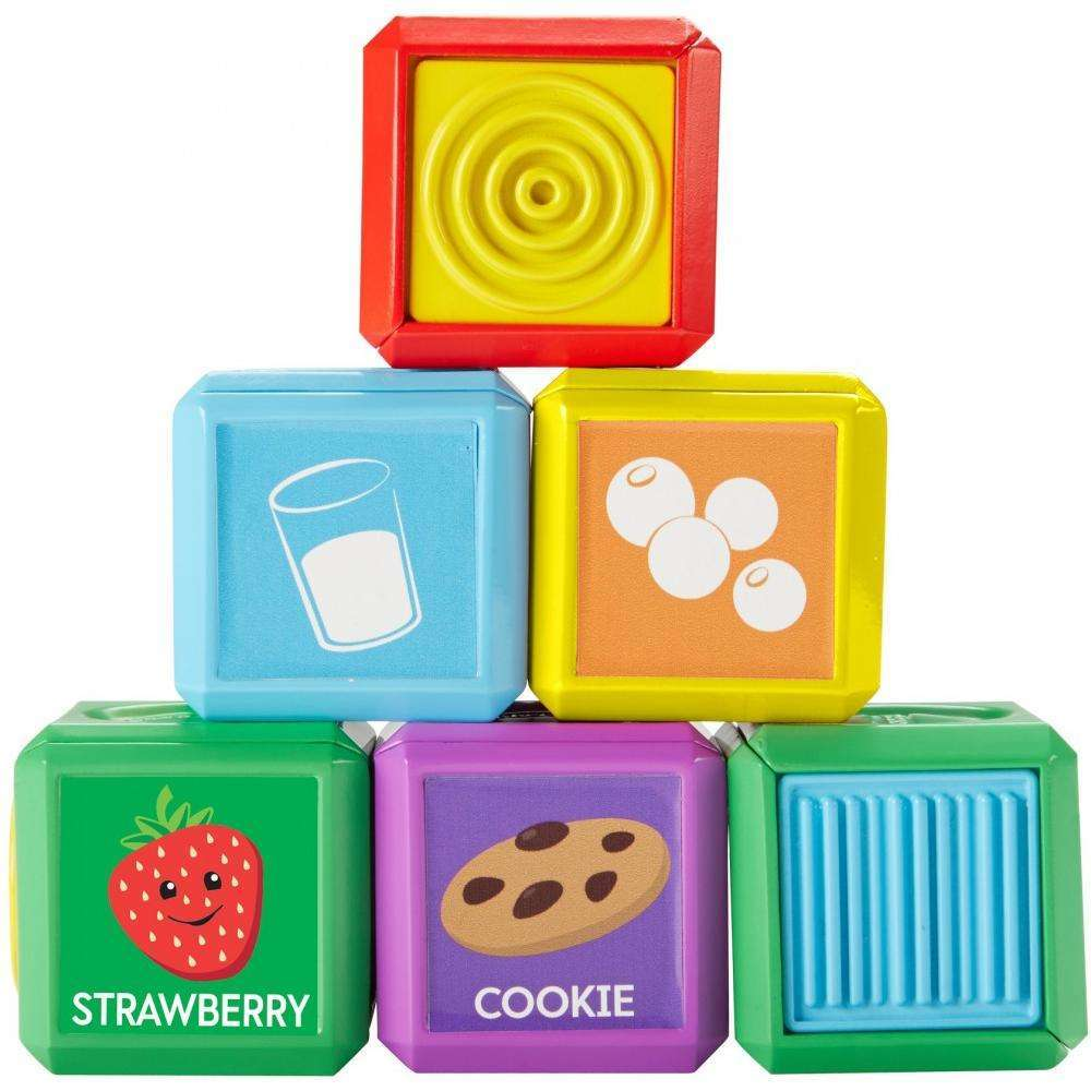 Fisher-Price Laugh & Learn First Words Food Blocks