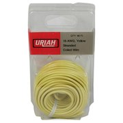 Infinite Innovations UA501840 40 in. 18 Awg Primary Insulation Automobile Wire - Yellow