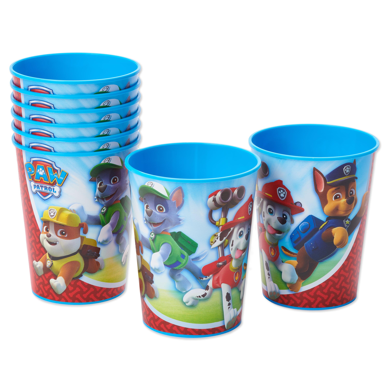 BABY SHARK DooDooDoo Happy Birthday Party plastic FAVOR CUP 16oz reusable fish