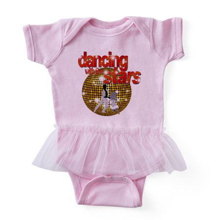 CafePress - Dancing With The Stars Disco Ball Dancers Silhouet - Cute Infant Baby Tutu (Max Dancer On Dancing With The Stars)