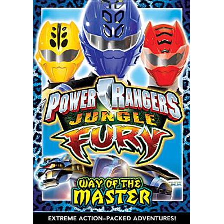 Power Rangers: Jungle Fury - Way of the Master [With Trading Cards]](Power Ranger Jungle Fairy)