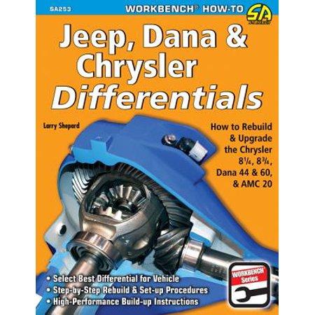 Jeep, Dana & Chrysler Differentials: How to Rebuild the 8-1/4, 8-3/4, Dana 44 & 60 & AMC 20