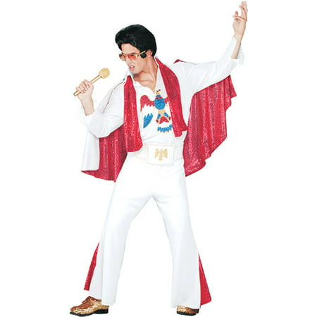 Elvis Deluxe Jumpsuit Adult Halloween Accessory - Pro Elvis Jumpsuit