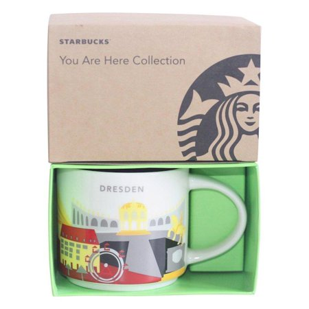 Starbucks You Are Here Collection Germany Dresden Ceramic Coffee Mug New Box