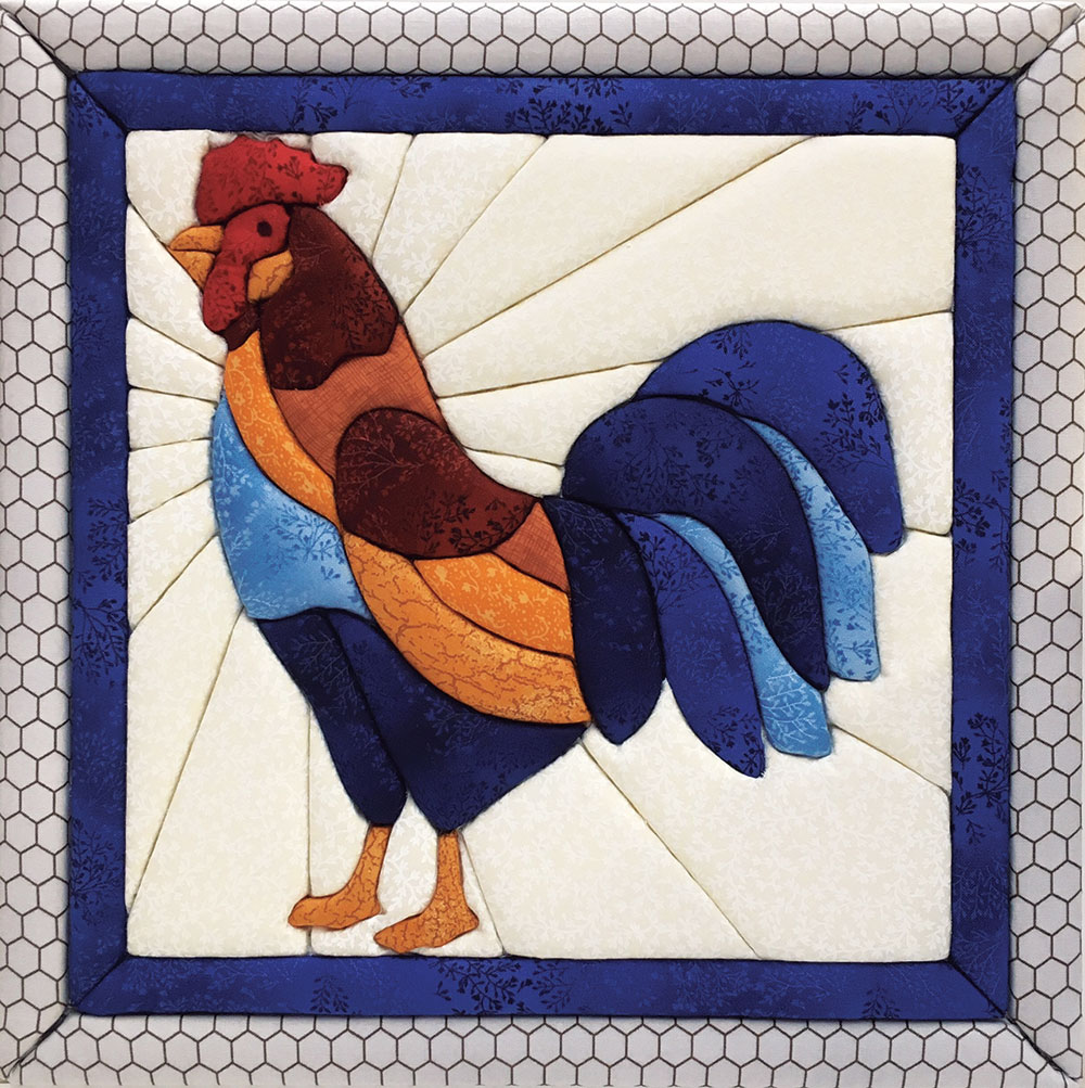 Rooster Quilt Magic Kit