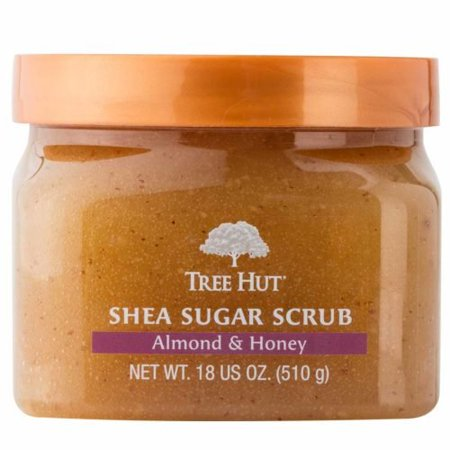 Tree Hut Sugar Body Scrub 18 Ounce Almond And Honey Shea (Honey Almond Sugar Scrub)