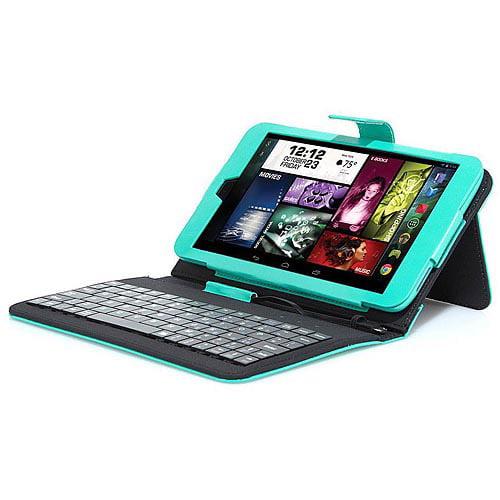 "Visual Land Prestige Elite 8"" IPS Tablet 16GB Quad Core Keyboard Case"