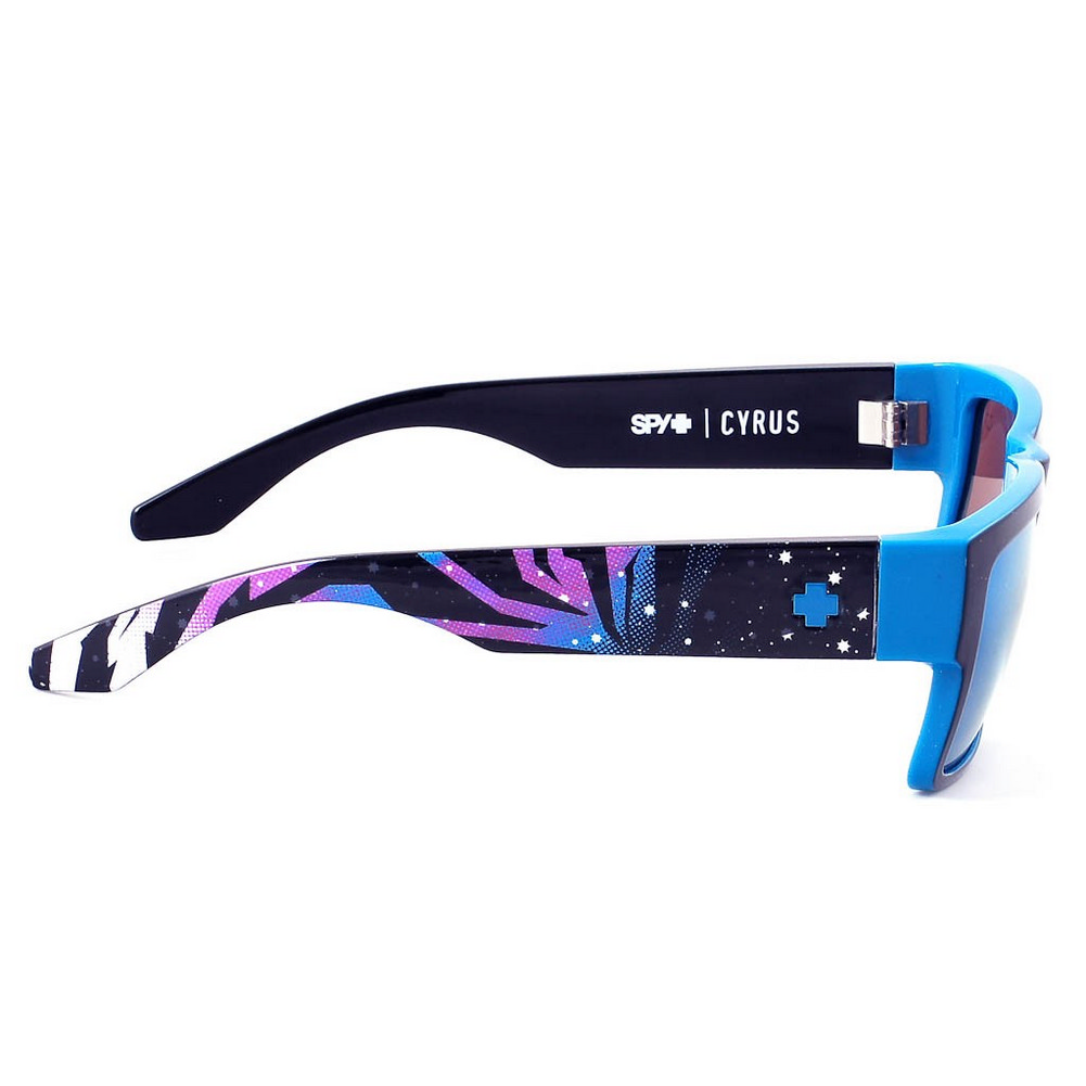 413595007d Spy Optic - Sunglasses Cyrus Ken Block Livery Happy Bronze W  Light Blue  Spectra Lens - Walmart.com