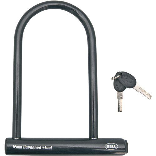 Bell Sports / Cycle Products 1006430 Shackle U-Lock Bike Lock With Key