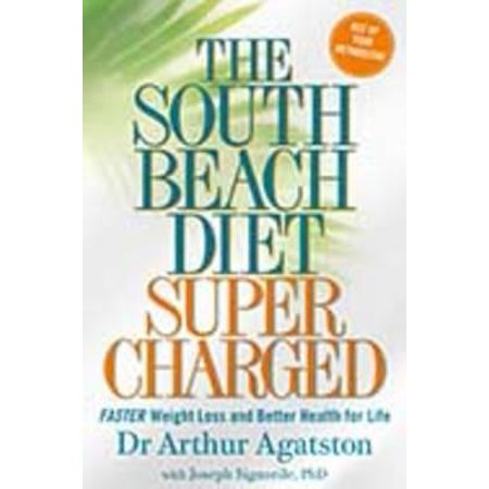 The South Beach Diet Supercharged (Paperback) (South Beach Halloween)