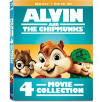 Alvin and the Chipmunks: 4-Movie Collection (Blu-ray)