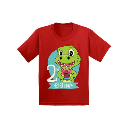 2 Year Old Baby Girl Birthday Themes (Awkward Styles Dinosaur Birthday Infant Shirt Gifts for 2 Year Old Birthday Baby Boy Shirt 2nd Birthday Baby Girl Outfit Dinosaur Gifts for Toddler Dinosaur Themed Birthday Party 2nd Birthday)