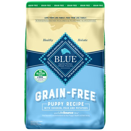 Blue Buffalo Puppy - Blue Buffalo Life Protection Formula Grain Free Natural Puppy Dry Dog Food, Chicken, 10-lb