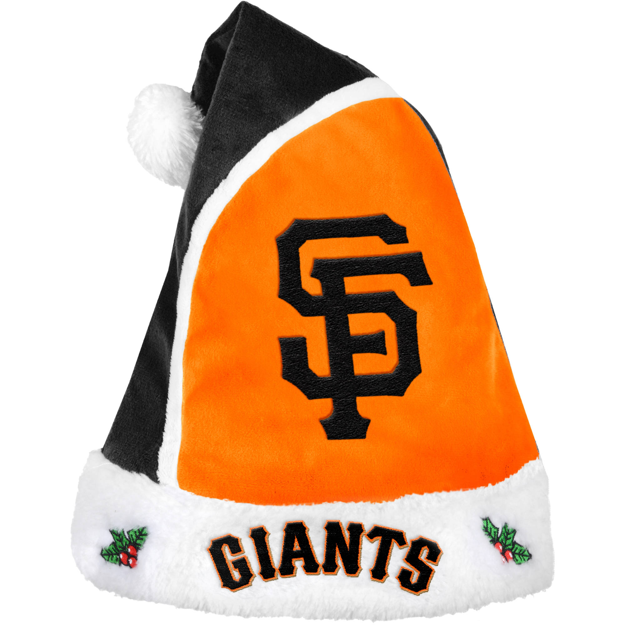 Forever Collectibles MLB 2015 Santa Hat, San Francisco Giants