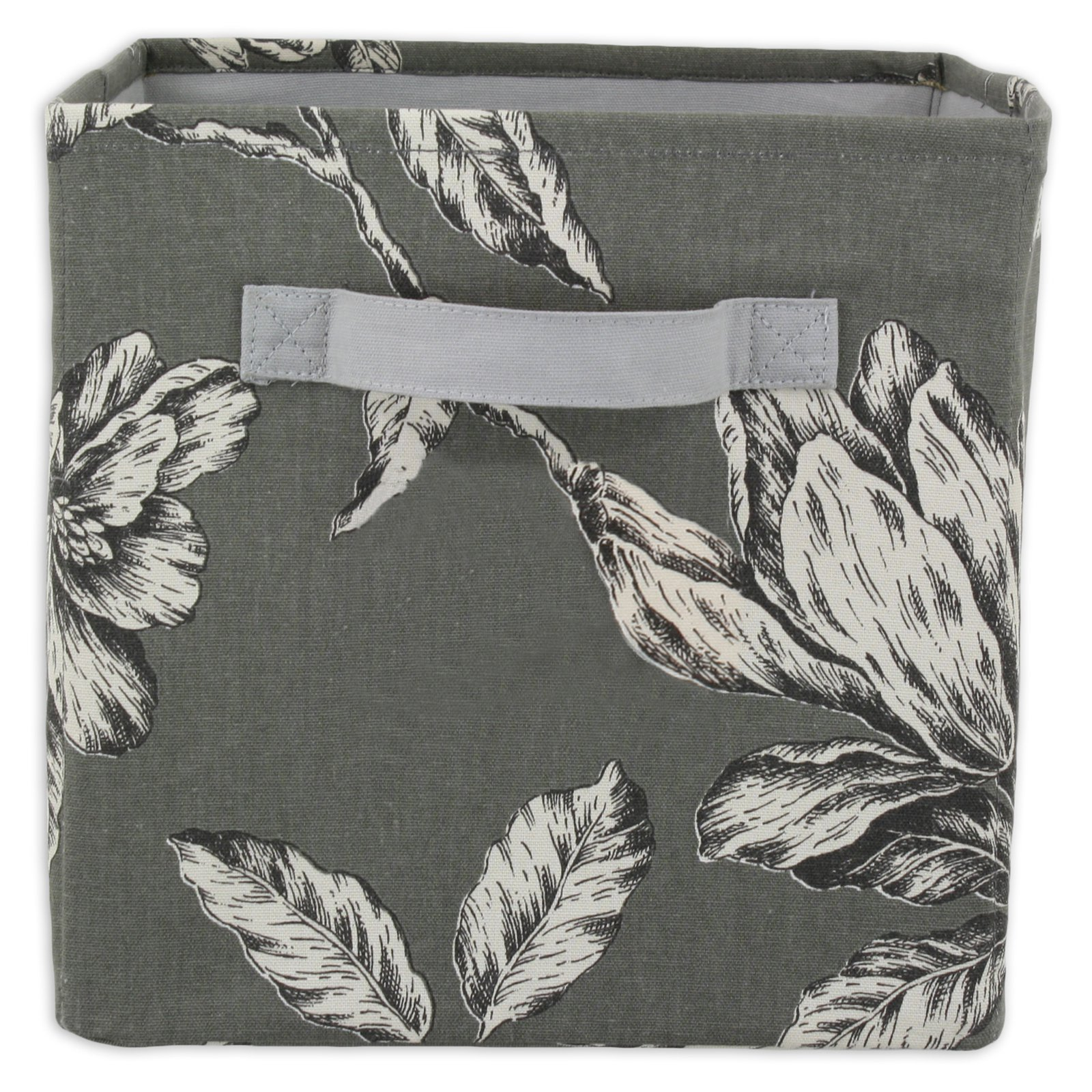 Brite Ideas Antebellum Graphite Storage Bin with Handle