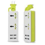 Best Travel Chargers - upwade 2 outlet travel power strip surge protector Review