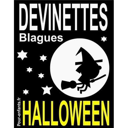 Devinettes et blagues d'Halloween - eBook - Coloriages D'halloween