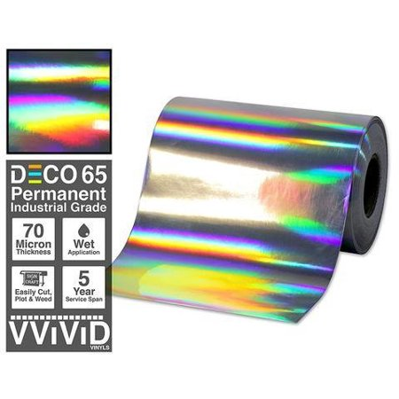 Contact Paper Craft Vinyl Chrome Rainbow Lazer Holographic