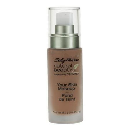 Sally Hansen Natural Beauty Your Skin Makeup - 50 Chestnut](Sally Makeup Tutorial Halloween)