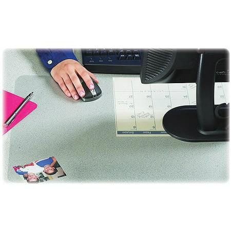 "20"" x 36"" Krystal View™ Non-Glare Antimicrobial Desk Pad Organizer with Microban®, Satin"