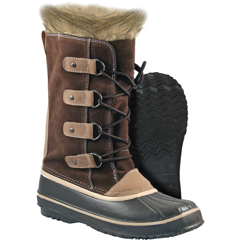 Women's Roseville Suede Lace-up Winter Boot with 200g Thermo Lite Insulation