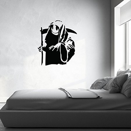 Death And All His Friends Banksy Wall Decal Wall Sticker Vinyl Wall Ar