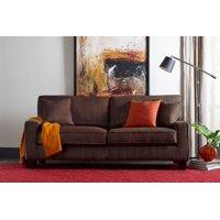 """Serta Palisades 73"""" Sofa in Brown"""