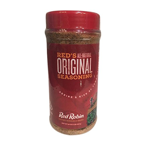 Red Robin All-Natural Original Seasoning 16oz for your Gourmet Burgers and your Favorite... by