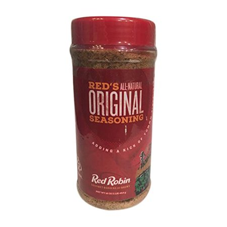 Red Robin All Natural Original Seasoning 16Oz For Your Gourmet Burgers And Your Favorite Foods