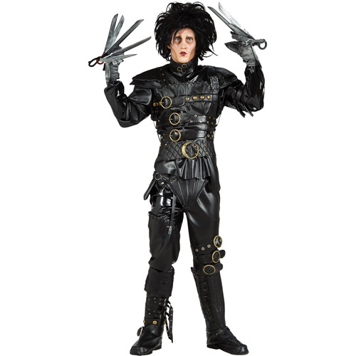 Edward Scissorhands Deluxe Adult Halloween Costume - One Size