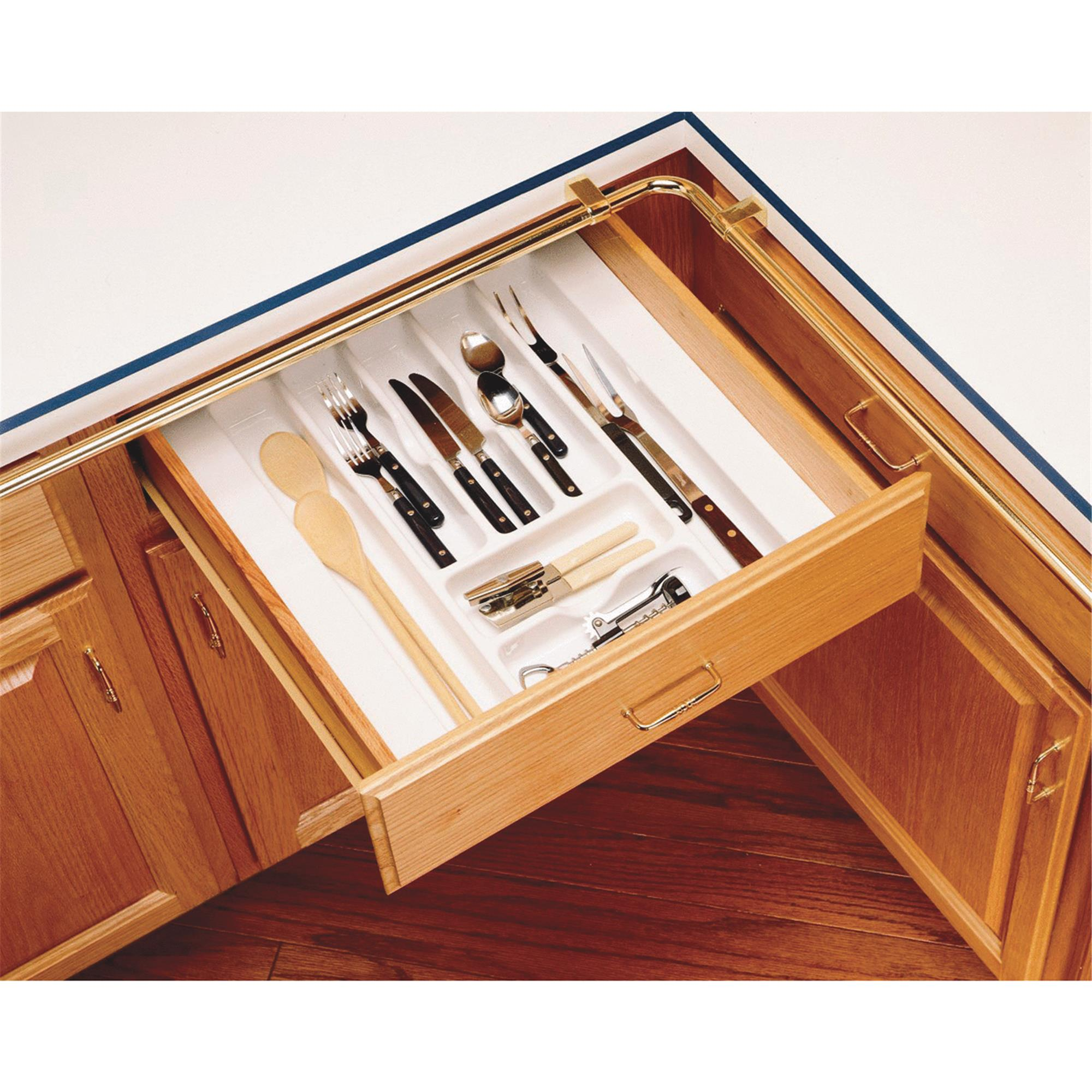 Rev A Shelf Trim To Fit Cutlery Tray Organizer Walmart Com