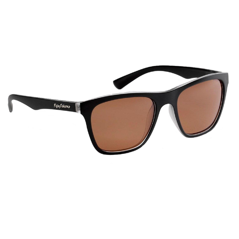 Matte-Black Frame Flying Fisherman Maverick Polarized Sunglasses