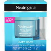 2 Pack - Neutrogena Hydro Boost Hyaluronic Acid Hydrating Water Face Gel Moisturizer for Dry Skin, Oil-Free, Non Comedog