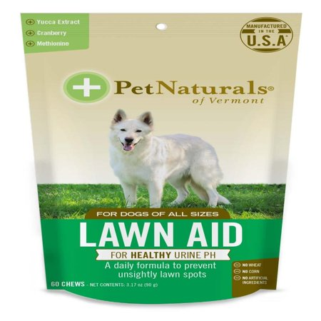 of Vermont - Lawn Aid, Urine Balance Supplement for Dogs, 60 Bite Sized Chews, Lawn Aid is a daily formula to prevent unsightly lawn spots. It is specially.., By Pet (Super Pet Branch Bites)